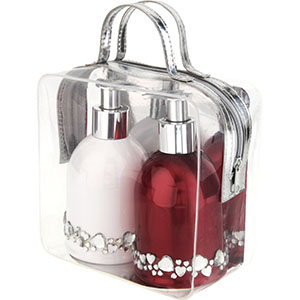 #4190 — Gift Set Hearts Soap & Body Lotion